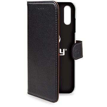 CELLY Wally pro Apple iPhone XR černé (WALLY998)
