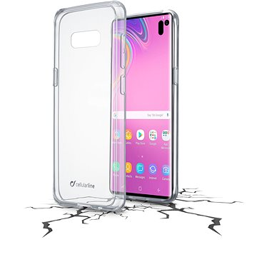 Cellularline CLEAR DUO pro Samsung Galaxy S10e (CLEARDUOGALS10LT)