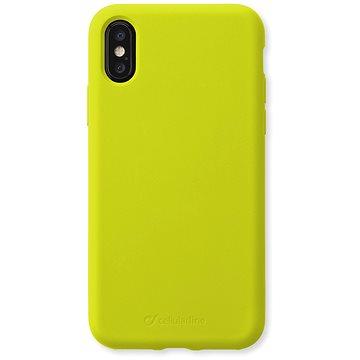 CellularLine SENSATION pro Apple iPhone X/XS limetkový neon (SENSATIONIPH8XL)