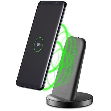 Cellularline WIRELESS FAST CHARGER STAND s USB-C 10W černý (WIRELESSTANDTYCK)
