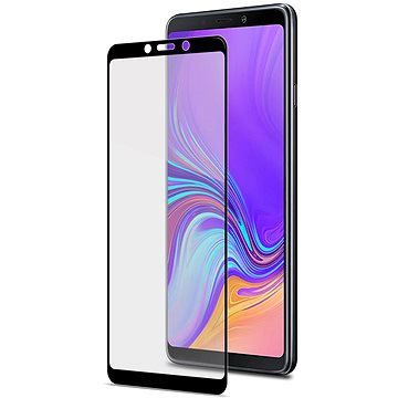 CELLY Full Glass pro Samsung Galaxy A9 (2018) černé (FULLGLASS796BK)