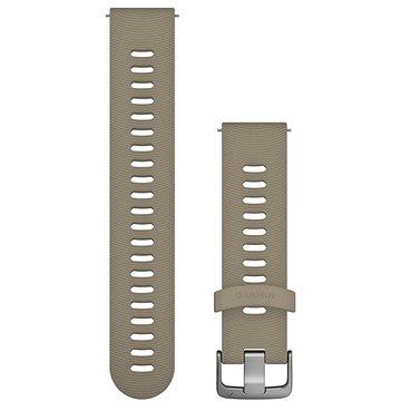 Garmin Quick Release Band (20 mm), sandstone, stříbrná přezka (010-11251-0Z)