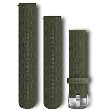 Garmin Quick Release Band (20 mm), mechově zelený (010-12561-00)