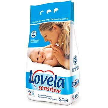 Lovela Sensitive 5,4 kg + ZDARMA Prací prostředek LOVELA na bíle prádlo 120 ml (1 praní)