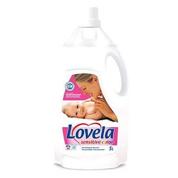 Lovela Color tekutý prací prostředek na barevné prádlo 5 l + ZDARMA Prací prostředek LOVELA na bíle prádlo 120 ml (1 praní)