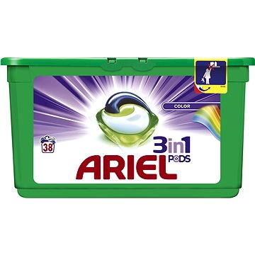 Ariel liquid tabs Color 3in1 38 pcs