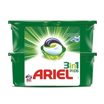 Ariel Active gel Mountain Spring 60ks (2x30 ks)