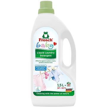Prací gel FROSCH EKO Baby Hypoalergenní prací gel na kojenecké prádlo 1,5 l (21 praní) (4001499923531)