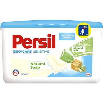Kapsle na praní Persil DuoCaps Sensitive box (15 praní) (9000101030228) + ZDARMA Aviváž Silan Soft&Oils Gold 65 ml (1 praní)