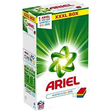 Prací prášek ARIEL White&Colors 6 kg (80 praní) (4015400979685)