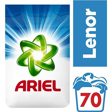 Prací prášek Ariel Touch of Lenor 5,25 kg (70 prani) (4084500716797)