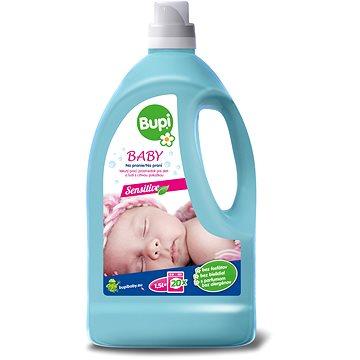 Prací gel BUPI Baby Tekutý prací prostředek 1,5 l (15 praní) (8585000745332) + ZDARMA Mýdlo BUPI Baby mýdlo na skvrny a na praní 180 g