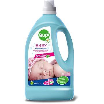 Prací gel BUPI Baby Tekutý prací prostředek 3 l (30 praní) (8585000745516) + ZDARMA Mýdlo BUPI Baby mýdlo na skvrny a na praní 180 g