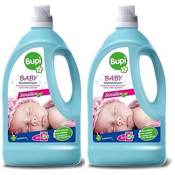 BUPI Baby Tekutý prací prostředek 2× 3 l (60 praní)