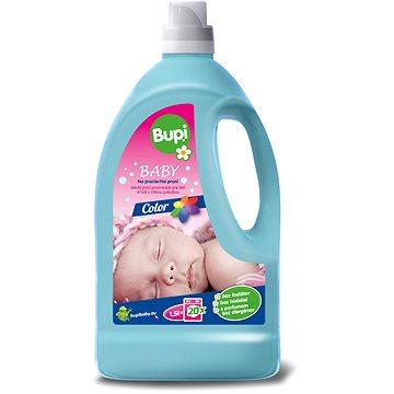 Prací gel BUPI Baby Color Tekutý prací prostředek 1,5 l (20 praní) (8585000745578)