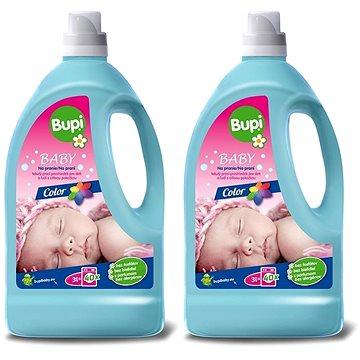 BUPI Baby Color Tekutý prací prostředek 2× 3 l (80 praní)