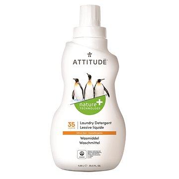 Prací gel ATTITUDE Prací gel s vůní citronové kúry 1,05 l (35 pracích dávek) (626232520347)
