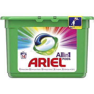 Kapsle na praní ARIEL Color 3in1 14 ks (14 praní) (8001090348869)
