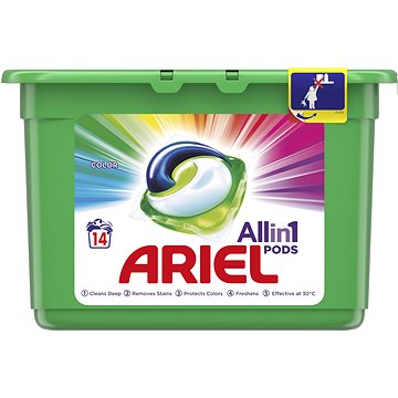 Kapsle na praní ARIEL Mountain Spring 14 ks (14 praní) (8001090348869)