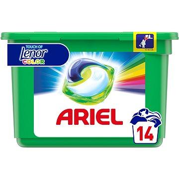Kapsle na praní ARIEL Touch of Lenor 14 ks (14 praní) (8001090348944)