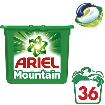 Kapsle na praní ARIEL Mountain Spring 36 ks (36 praní) (8001090309716)
