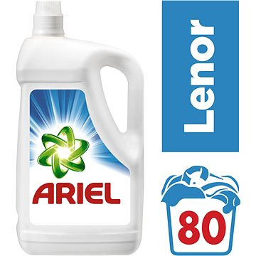 Prací gel ARIEL Touch of Lenor 5,2 l (80 dávek) (8001090233066) + ZDARMA Aviváž LENOR Pure 50 ml