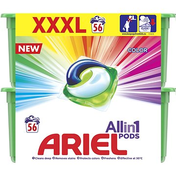 Kapsle na praní ARIEL Color 3in1 56 ks (8001090410672)