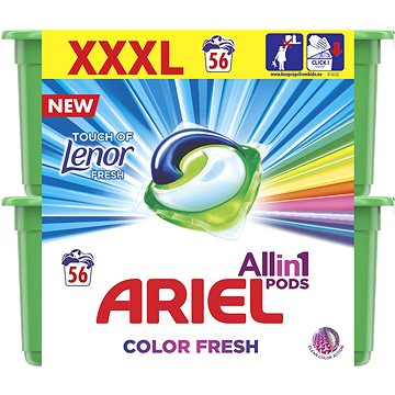 Kapsle na praní ARIEL Touch of Lenor 3in1 56 ks (8001090410726)