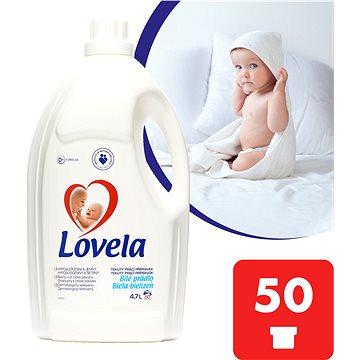 Prací gel LOVELA Gel Bílá 4,7 l (50 praní) (5900627071061) + ZDARMA Dárek VANISH prášek 30 g Prací prostředek LOVELA na bíle prádlo 120 ml (1 praní)