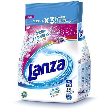 Prací prášek LANZA Spring Freshness 4,5 kg (60 praní) (8592326016923) + ZDARMA Dárek VANISH prášek 30 g