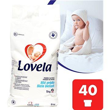 Prací prášek LOVELA Prášek Bílá 5 kg (40 praní) (5900627044300)