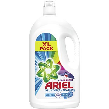 Prací gel ARIEL Touch of Lenor 4,55 l (70 praní) (4084500395046)