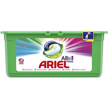Kapsle na praní ARIEL Color 3in1 28 ks (8001090309556)
