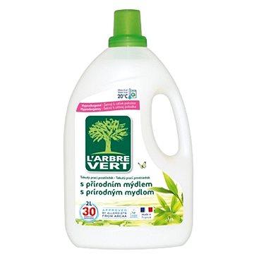 Prací gel LARBRE VERT prací prostředek přírodní mýdlo 2 l (3450601027437)