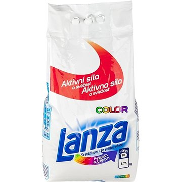 Prací prášek LANZA Fresh & Clean Color 6,75 kg (90 praní) (8592326016633)