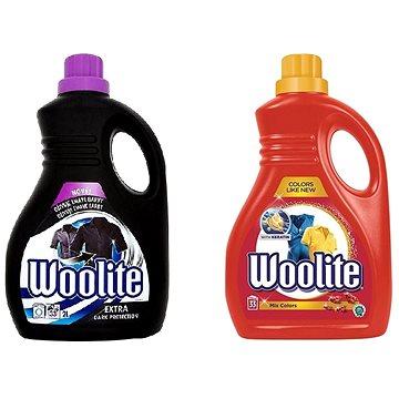Sada WOOLITE Extra Dark 2 l (33 praní) + WOOLITE Extra Color 2 l (33 praní)