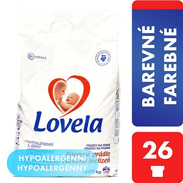 Prací prášek LOVELA Prášek color 3,25 kg (26 praní) (5900627037807)