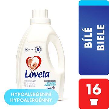 Prací gel LOVELA Gel bílá 1,5 l (16 praní) (5900627012569) + ZDARMA Dárek VANISH prášek 30 g Prací prostředek LOVELA na bíle prádlo 120 ml (1 praní)