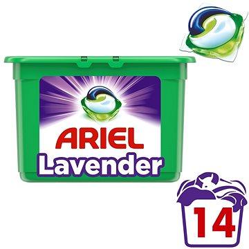 Kapsle na praní ARIEL Lavender Fresh 3v1 14 ks (8001090592491) + ZDARMA Aviváž LENOR Pure 50 ml