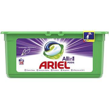 Kapsle na praní ARIEL Lavender Fresh 3v1 28 ks (8001090592583) + ZDARMA Aviváž LENOR Pure 50 ml