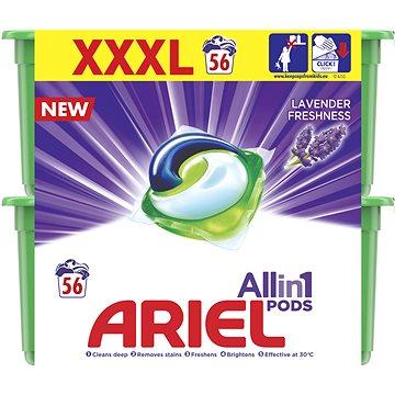 Kapsle na praní ARIEL Lavender Fresh 3v1 56 ks (8001090628688)