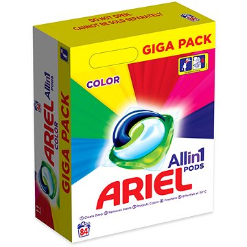 Kapsle na praní ARIEL Liquid Color 84 ks (8001090719935)