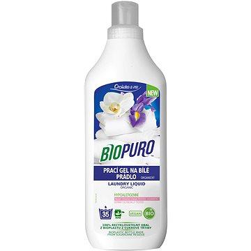 BIOPURO Tekutý prací gel na bílé prádlo 1 l (35 praní) (8057432977013)