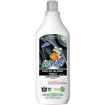 BIOPURO Organický tekutý prací gel na černé prádlo 1 l (35 praní) (8057432977501)