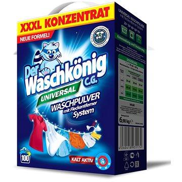 DER WASCHKÖNIG Prací prášek Universal 7,5 kg (100 praní) (4260353550065)