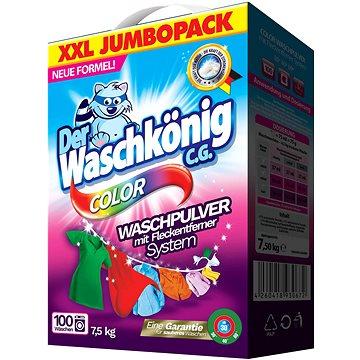 DER WASCHKÖNIG Prací prášek Color 7,5 kg (100 praní) (4260353550362)