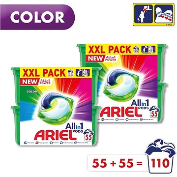 ARIEL All-in-1 Color 110 ks