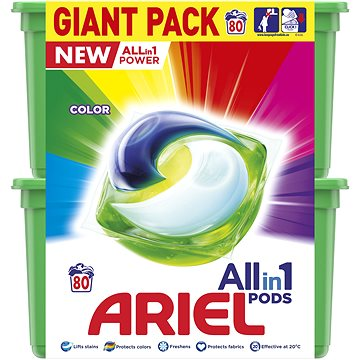 ARIEL All-in-1 Color 80 ks (8001841836072)