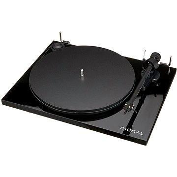Pro-Ject Essential II Digital + OM5E - černý (9120065187650)