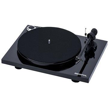 Pro-Ject Essential III + OM10 Piano černá (9120071656836)